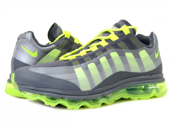 Nike Air Max 95 360. Dark Grey/Wolf Grey-Anthracite-Volt 511307